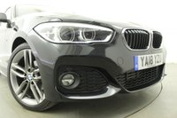 USED 2018 18 BMW 1 SERIES 1.5 116D M SPORT 5d AUTO 114 BHP Sat Nav- Rear Privacy Glass