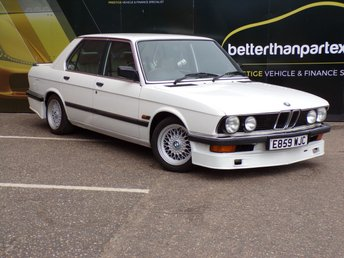 1987 BMW 5 SERIES 2.7 525E 4d AUTOMATIC CLASSIC CAR GREAT INVESTMENT OPPORTUNITY £5300.00
