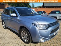 USED 2015 15 MITSUBISHI OUTLANDER 2.0 PHEV GX 4H 5d AUTO 162 BHP Full Service History 5 Stamps