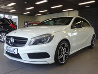 USED 2014 14 MERCEDES-BENZ A CLASS 1.5 A180 CDI BLUEEFFICIENCY AMG SPORT 5d AUTO MOT AND SERVICE AND WARRANTY INCLUDED