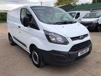 USED 2015 15 FORD TRANSIT CUSTOM 2.2 290 L1 H1 SWB 100 BHP