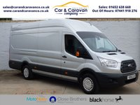USED 2015 15 FORD TRANSIT 2.2 350 TREND H/R P/V 1d 124 BHP One Owner Full FORD History Buy Now, Pay Later Finance!