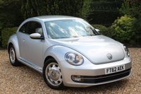 USED 2012 62 VOLKSWAGEN BEETLE 1.2 DESIGN TSI DSG 3d AUTO 103 BHP ** STICKERS CAN STAY ON OR OFF **
