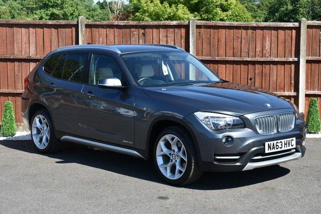 2013 63 BMW X1 2.0 XDRIVE18D XLINE 5d 141 BHP STUNNING EXAMPLE
