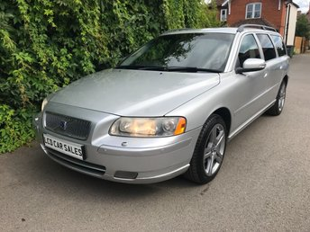 2007 VOLVO V70 2.4 PETROL SPORT SPECIAL EDITION AUTOMATIC - FULL SERVICE HISTORY - 8 DEALER STAMPS, JUST SERVICED & A NEW CAMBELT @ 93,524 MILES - ULEZ COMPLIANT £5490.00