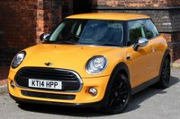 USED 2014 14 MINI HATCH ONE 1.5 One D (s/s) 3dr FMSH-CLIMATE A/C- 16' ALLOYS