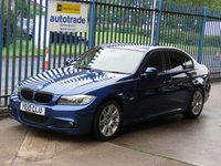 USED 2010 10 BMW 3 SERIES 2.0 318D M Sport 4dr Bluetooth Cruise Privacy glass £30 Road Tax & Great Fuel Economy