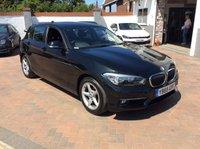 2016 BMW 1 SERIES 1.5 118I SE 5d AUTO 134 BHP £11995.00