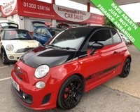 USED 2012 12 ABARTH 500 1.4 ABARTH 3d 135 BHP JUST MOT`D AND SERVICED
