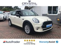 2015 MINI HATCH COOPER 1.5 COOPER 5d AUTO 134 BHP £11995.00