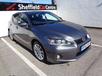 USED 2012 62 LEXUS CT 1.8 200H SE-L 5d AUTO 136 BHP ZERO TAX ELECTRIC HYBRID VEHICLE 5 MAIN DEALER SERVICES PRIVACY GLASS CLIMATE FULL LEATHER PARKING SENSORS