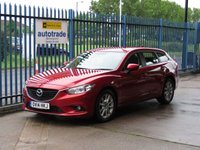 USED 2014 14 MAZDA 6 2.2 D SE NAV 5d 148 BHP £20 Road Tax-Sat Nav-Great Fuel Economy