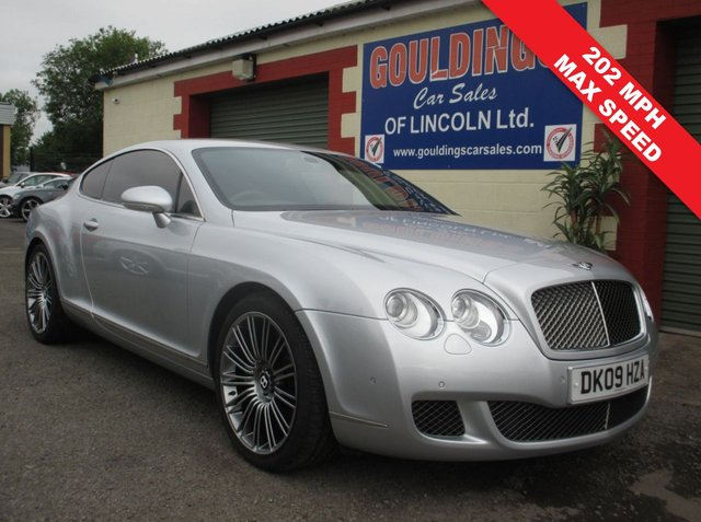 USED 2009 09 BENTLEY CONTINENTAL 6.0 GT SPEED 2d AUTO 603 BHP FULL BENTLEY SERVICE HISTORY - SEE IMAGES