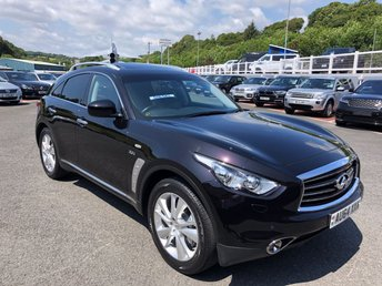 2014 INFINITI QX70 3.0 GT D 5d AUTO 235 BHP £16750.00