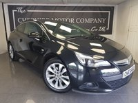USED 2013 13 VAUXHALL ASTRA GTC 1.4 GTC SRI S/S 3d + 1 FORMER KEEPER + HALF LEATHER + PRIVACY