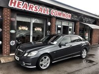 2012 MERCEDES-BENZ E CLASS 2.1 E250 CDI BLUEEFFICIENCY SPORT 4d AUTO 204 BHP £9000.00