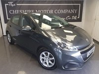 2016 PEUGEOT 208 1.6 BLUE HDI ACTIVE 5d + 1 OWNER + ALLOYS + A/C £4350.00