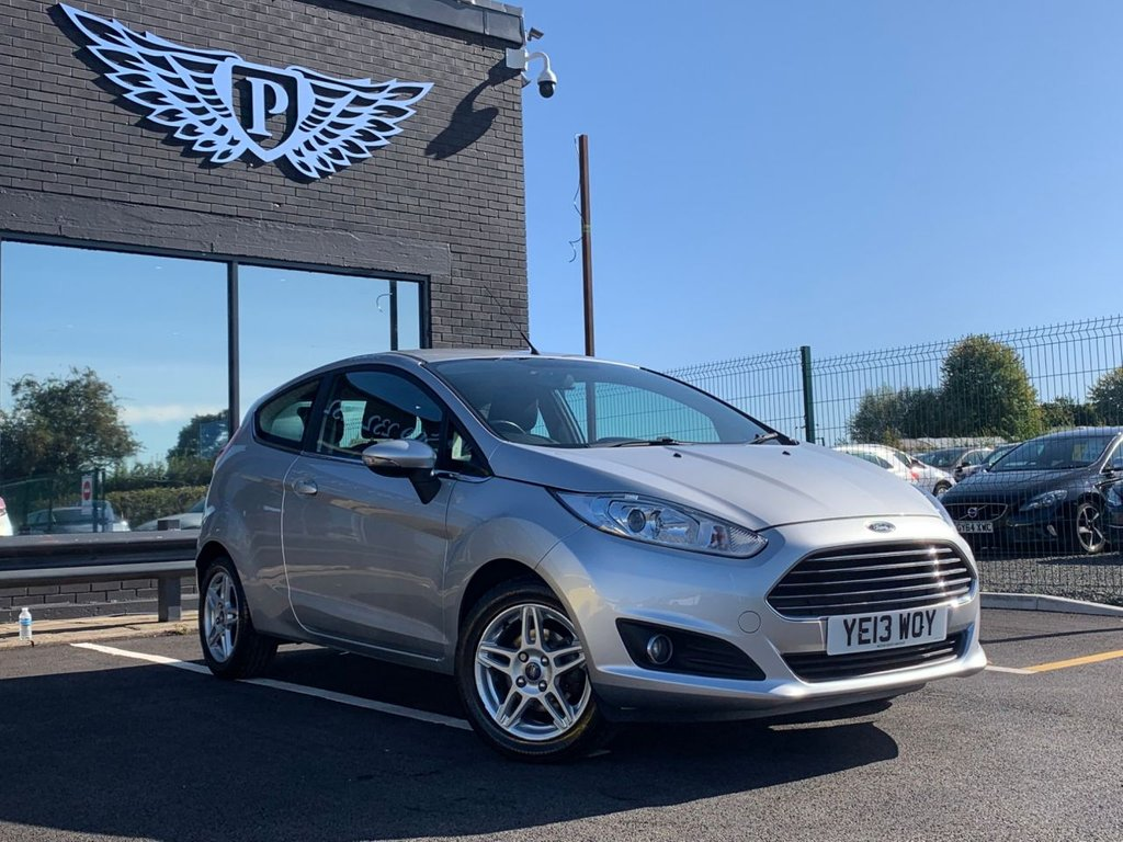 USED 2013 13 FORD FIESTA 1.0 ZETEC 3d 79 BHP MOT AND SERVICE AND WARRANTY INCLUDED