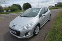 2013 PEUGEOT 308 1.6 HDI ACTIVE Alloys,Air Con,F.S.H £3995.00