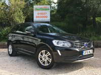 USED 2016 16 VOLVO XC60 2.0 D4 SE NAV 5dr Sat Nav, Leather, FVSH, 1 Own