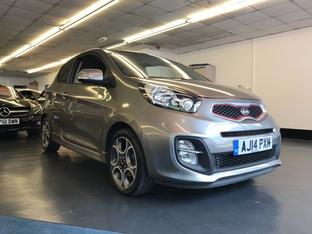 USED 2014 14 KIA PICANTO 1.2 QUANTUM ISG 3d 84 BHP ELECTRIC SUNROOF, STOP/START, ELECTRIC FOLDING DOOR MIRRORS