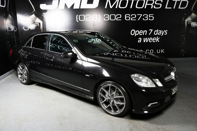 2010 MERCEDES-BENZ E CLASS E350 CDI B.E. SPORT NIGHT EDITION STYLE AUTO 231 BHP (FINANCE AND WARRANTY)