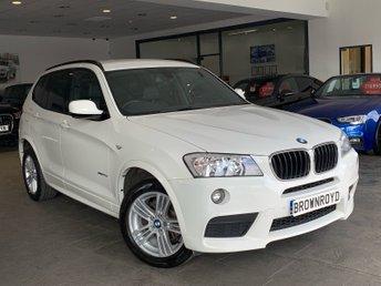 2013 BMW X3 2.0 XDRIVE20D M SPORT 5d AUTO 181 BHP £13990.00