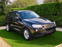 USED 2011 11 BMW X3 3.0 XDRIVE30D SE 5d AUTO 255 BHP Full Black Leather Heated Seats, Satellite Navigation + Bluetooth Connectivity + DAB Radio, Front and Rear Park Distance Control, Leather Multi Function Steering Wheel, Cruise Control, Radio CD, Digital Dual Zone Climate Control, Auto Hill Hold Assist, Auto Lights,