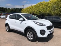 USED 2016 16 KIA SPORTAGE 1.6 GDI 1 5d UNDER 8,000 MILES AND KIA WARRANTY  NO DEPOSIT  PCP/HP FINANCE ARRANGED, APPLY HERE NOW