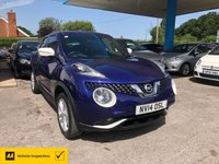 USED 2014 14 NISSAN JUKE 1.2 ACENTA PREMIUM DIG-T 5d 115 BHP ALL OUR CARS ARE AA INSPECTED