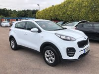 USED 2016 16 KIA SPORTAGE 1.6 GDi 1 5dr BALANCE OF THE KIA 7YR WARRANTY NO DEPOSIT  PCP/HP FINANCE ARRANGED, APPLY HERE NOW