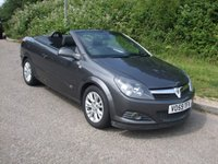 USED 2009 59 VAUXHALL ASTRA 1.8i 16v Coupe Twin Top Sport Cabriolet Convertible Electric folding hardtop roof.