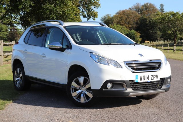 USED 2014 14 PEUGEOT 2008 1.2 VTi Allure 5dr Full Peugeot History + Long Mot