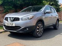 USED 2012 12 NISSAN QASHQAI 1.5 N-TEC PLUS DCI 5d 110 BHP FULL SERVICE HISTORY, 1YR MOT NEW CAMBELT, NAV, ALLOYS, CLIMATE, CRUISE, BLUETOOTH, RADIO CD, E/WINDOWS, R/LOCKING, FREE WARRANTY, FINANCE AVAILABLE, HPI CLEAR, PART EXCHANGE WELCOME,