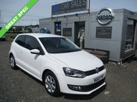 USED 2013 62 VOLKSWAGEN POLO 1.4 MATCH 3d 83 BHP