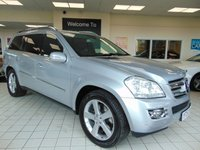 "USED 2007 57 MERCEDES-BENZ GL CLASS 4.0 GL420 CDI 5d AUTO 302 BHP FULL SERVICE HISTORY + FULL MOT + SATELLITE NAVIGATION + BLUETOOTH + FULL NAPPA LEATHER + HEATED FRONT AND REAR SEATS + 20"" ALLOYS + CRUISE CONTROL + CLIMATE CONTROL + 7 SEATS + XENON LIGHTS + CD CHANGER + RADIO + ROOF RAILS +"