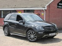2011 MERCEDES-BENZ M CLASS 3.0 ML300 CDI BLUEEFFICIENCY GRAND EDITION AUTO 5dr £10990.00
