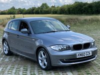 2010 BMW 1 SERIES 2.0 116D SPORT 5d 114 BHP £4495.00