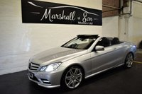 2012 MERCEDES-BENZ E CLASS 2.1 E250 CDI BLUEEFFICIENCY SPORT 2d AUTO 204 BHP CONVERTIBLE £12500.00