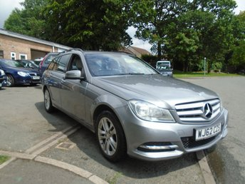 2012 MERCEDES-BENZ C CLASS 2.1 C220 CDI BLUEEFFICIENCY EXECUTIVE SE 5d AUTO 168 BHP £5895.00