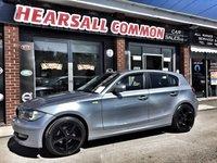 2009 BMW 1 SERIES 2.0 116D SPORT 5d 114 BHP £4500.00