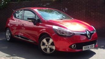 2014 RENAULT CLIO 0.9 DYNAMIQUE MEDIANAV ENERGY TCE S/S 5d 90 BHP £6589.00