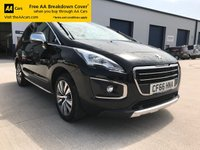 USED 2017 66 PEUGEOT 3008 1.6 BLUE HDI S/S ACTIVE 5d 120 BHP ALL OF OUR CARS ARE BACKED BY THE AA.  THEY COME WITH A MINIMUM OF 6 MONTHS MOT, 3 MONTHS AA WARRANTY AS STANDARD, 12 MONTHS ROAD SIDE ASSISTANCE. WE ALSO HAVE EXTENDED WARRANTY PACKAGES AVAILABLE FROM 12 MONTHS TO 36 MONTHS.  ASK ONE OF OUR SALES TEAM FOR MORE INFORMATION. 01443 520670 / 07977170475.  THANKS FOR LOOKING!!!