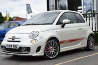 USED 2014 64 ABARTH 500 1.4 ABARTH 595 TURISMO 3d 160 BHP FANTASTIC EXAMPLE IN WHITE WITH FSH MUST BE SEEN!