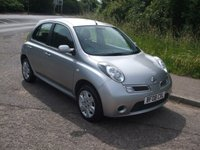 USED 2008 08 NISSAN MICRA 1.2 ACENTA 5d AUTO 80 BHP 2 owners. FSH. Low mileage.