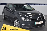 USED 2016 16 VOLKSWAGEN GOLF 1.4 GT EDITION TSI ACT BMT 3d 150 BHP ( SAT NAV AND BLUETOOTH )