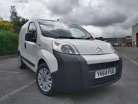 2014 CITROEN NEMO 1.2 HDI 660 ENTERPRISE £3600.00