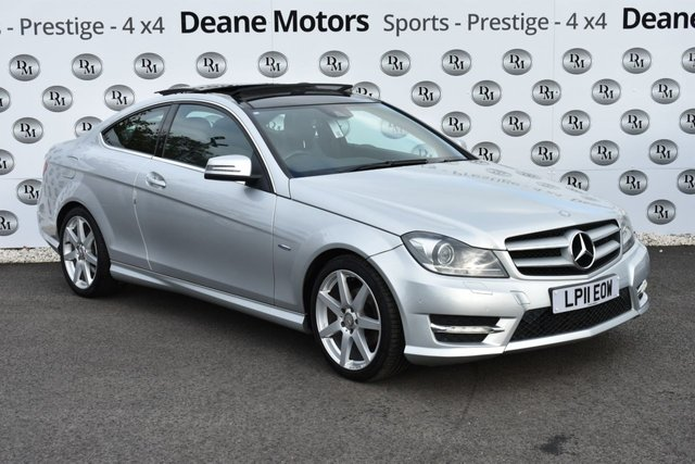 2011 11 MERCEDES-BENZ C CLASS 2.1 C250 CDI BLUEEFFICIENCY AMG SPORT 2d 204 BHP PANROOF