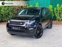 USED 2016 16 LAND ROVER DISCOVERY SPORT 2.0 TD4 HSE BLACK 5d AUTO 180 BHP VAT QUALIFYING  BLACK PACK