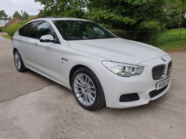 2016 66 BMW 5 SERIES 3.0 535D M SPORT GRAN TURISMO 5d AUTO 309 BHP
